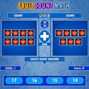 Fruit Count Math