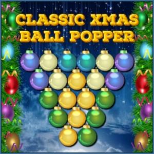 Classic Xmas Ball Popper